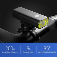 دراجة ضوء V9C 800 شمعة دراجة ضوء الأمامي مصباح يدوي دراجة الملحقات 5 وضع مصباح usb قابلة للشحن Y200920