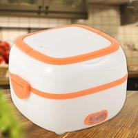 Alloet elétrico aquecimento aquecido recipiente de arroz fogões aquecedor portátil lancheira para casa cozinha inverno aquecimento caixa1