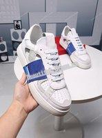 Valentino shoes Perfect Rock Runner Camuflajas zapatos para hombres, mujeres luxe estilo estilo rock tachuelas al aire libre camujas entrenadores zapatos casuales