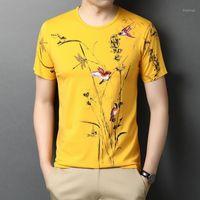 Ymwmhu engraçado homens gráficos camisetas Algodão manga curta o-pescoço camiseta magro moda homens tshirt plus tamanho verão tops Tees dropship1
