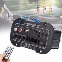 Lecteur audio de voiture Mini radio stéréo sans fil numérique Bluetooth 2.1 AC 110-220 DC 12-24V 50W accessoires
