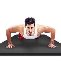 Tapete de ioga Mat Fitness Mat de Fitness Grosseiro Principiante Iniciante Home Ginástica Yogo 15mm Gym