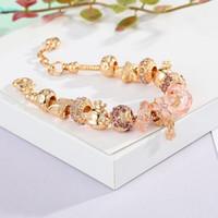 Neue Silber Charms Armband Europäische Perlen Schmuck Armreif Echtes Silber Armband Für Frauen