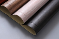 الجدول حصيرة بو الجلود الوسادة لتناول الطعام تقليد الخشب الحبوب تحديد الموقع العزل الحراري عدم الانزلاق الحديثة المفارش وعاء كوب الوقايات HHA3299
