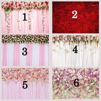 Hintergrundmaterial Mehofoto Blume PO Hintergrundgeburtstag Party Banner POGY ROSE Floral für Dekor Plooth Printd1