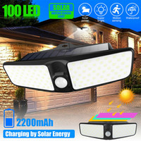 2020 fast ship 100 LED Solar Power Lamp Outdoor Yard Waterpr...