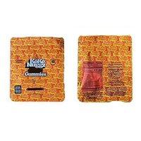 2021 Runtz Koko Nuggz Baggies Est Kitaplar Mylar Çanta 500mg Boş Gummies Paketi Perakende Depolama Koku Geçirmez Fermuar Kılıfı