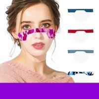 Maschera per il viso per la maschera di fasione riutilizzabile sorda e lavabile per adulti Design stampato a prova di polverizzazione Imballaggio individuale