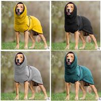 Autunno inverno all'aperto Abbigliamento cane Abbigliamento Animali domestici Dogs Moda Ispessitura Tenere caldo Vestiti di colore puro nuovo modello 2020 18hk J2