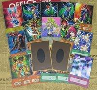 No.13 20pcs / Set Mai Valentine's Deck Anime Style Papier Cartes de papier Harpie Amazoness Dueliste Kingle Battle City Yugioh Maikujaku Orica