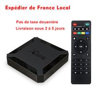 فرنسا الأسهم x96q تلفزيون مربع الروبوت 10.0 H313 شرائح رباعية الحبل 2 جيجابايت 16 جيجابايت 4 كيلو واي فاي مجموعة أعلى مربع