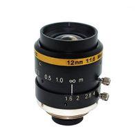 "3 MP 12MM F1.6 NO TV Distortion 2 3"" sensor 0.1m MOD Machine Vision Lens For security IP CCTV camera(SL-MV1216C3MP-23)1"
