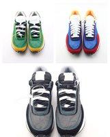 Mit box Undercover x LDV Waffel blau grün Sacaii Freizeitschuhe Weiß Blau Gelb Schwarzer Mens Toki Slip Luxus Designer ShoeSoes