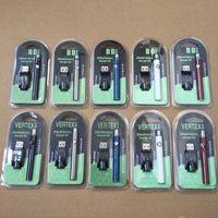 Vertex CO2 VV Vorwärmen Batteriekits LO Batterieöl Verdampfer o Stift 510 Vape Stift Vorheizbatterien 350mAh VS Law Twist Evod Ugo-T3