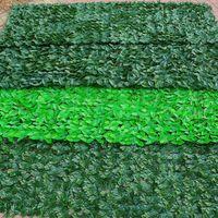 50x300см завод затрат искусственный искусственный зеленый лист конфиденциальности экран конфиденциальности панели ротанга открытый хедж садовый декор