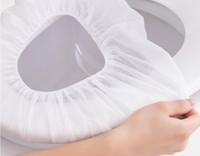 휴대용 호텔 여행 일회용 화장실 시트 부직포 방수 임신 여성 변기 좌석 욕실 액세서리 AHF3382 커버