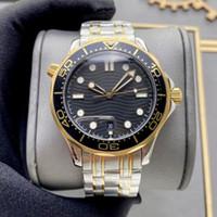 Üst Erkekler Erkek İzle Saatler Stainliess Çelik Spor 2813 Otomatik Mekanik İyi Hareketi Saatı