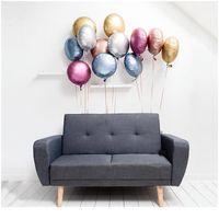 Nouveaux 10pcs Chrome Chrome Métallique Heart Star Round Helium Feuille Ballons Bébé 1er Anniversaire Fournitures de mariage Décor de mariage Ai Jllbzg