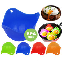Silicone Eggs Cup Non-stick Egg Poacher Egg Mold Cook Poach Pods Kitchen Tool Baking Poached Cup Egg Kitchen Cooking Tools