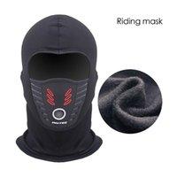 Radkappen Masken kaltes Wetter winddichte thermische Fleece-Neck-warme Balaclava wasserdichte Gesichtsmaske