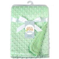 Baby Peas Sofá Manta Kids Mantas suaves de espuma suave Tirar alfombras Bolsa de dormir 102 * 76cm 6 Colores 1 NHE9E BSHJQ