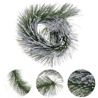 Декоративные цветы венки 1 шт. Поддельные сосны Neddle Decor Нежная полезная гирлянда для дома