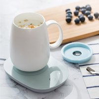 55 degc tasse de tasse de tasse de tasse de thé thé thé café boisson réchauffeur chasseur capteur de capteur de capteur de gravité yu-home c1210