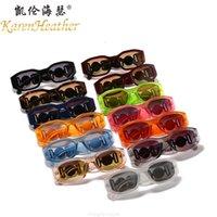 شخصية شخصية 4361 غير النظامية النظارات الشمسية الجديدة للرجال والنساء العصرية