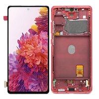 G7810 Panneaux super amolés pour Samsung Galaxy S20 Fe 4G G780 G780F 5G G781B G781N LCD écran écran tactile écran de rechange de rechange de remplacement