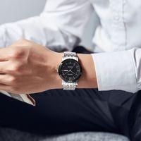 Caluola famoso marchio autentico orologio da donna orologio da donna coppia orologio al quarzo orologio casual moda semplice trendy impermeabile mens