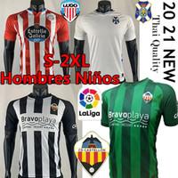 CD Lugo Tenerife Castellon Camisetas Chándal de Fútbol 2021 Jerseys de futebol Rodriguez Manu Barreiro Fran Sol Bermejo Jamelli Futebol Camisas
