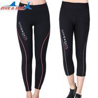 Pantalones de cosecha de 1.5 mm / Pantalón largo Neopreno Cultivos cálidos Pantalones Mujeres y Hombres Snorkeling Buceo Surfing Sailboard Sailing1