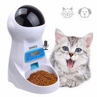 ISEEBICEBINES 3L Автоматический кормушка для домашних животных с голосовой записью домашних животных еда миска для средней маленькой собаки кошка ЖК-дисплеи 4 раза один день T200624