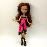4 pz / lotto nuovo stile mostro divertimento divertente bambole monster draculaura hight mobile articolazione, bambini migliori regalo all'ingrosso moda bambole 201203