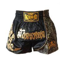 الملاكمة جذوع suotf الرياضة القتال اللياقة البدنية التدريب الرجال السراويل النمر الملاكمة السراويل التايلاندية الملابس