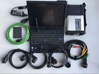Mercedes Otomobil ve Kamyonlar için Tarayıcı Teşhis Aracı MB Yıldız C5 Süper SSD Yeni S Xentry Das Laptop Ile X201T I7 4G