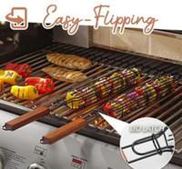 Canestri barbecue BBQ Grill Grill Grill Utensili Net Tools Food Cooking Storaker BBQ cestino Barbecue clip Grill cestini da cucina Outdoor Cucina Strumenti di cucina ZZC4223