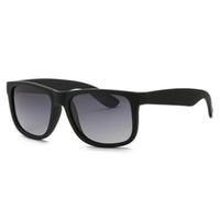 Moda homens óculos de sol mulheres dirigindo óculos UV400 gradiente ao ar livre óculos de sol preta quadro de alta qualidade com caso