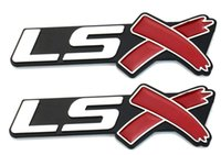 one pair LSX Trunk Emblems Badge for Camaro Corvette LS SS Silverado
