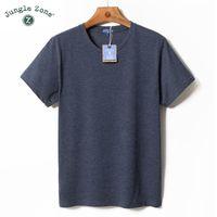 T-shirt da uomo T-shirt Jungle Zone T-shirt con scollo a manica corta O-Neck Manica corta Casual Estate Traspirante Maglietta Plus Size TA000