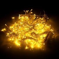 600LED Fenstervorhang String Fairy Light Hochzeit Weihnachtsfeier-Dekor (warmweiß) Top-Grad-Material-Saitenbeleuchtung
