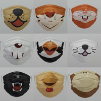Lovely Cartoon Animal Dog Customized Designer Masks Adult Ki...