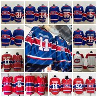 Montreal Canadiens 2021 Ters Retro Jersey 11 Brendan Gallagher 31 Carey Fiyat 15 Jesperi Kotkaniemi 14 Nick Suzuki 6 Shea Weber Stokta