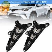 Carro piscando 2 pcs drl LED Daytime Running Light Luz para 2016 2017 2018 2019 Toyota C-HR chr com relé de estilo de sinal de volta