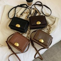 VeryMe Retro Designer PU Leather Purse Luxe 2021 Quality Thick Chain Messenger And Luxury Handbag Crossbody Bags Sac Femme Nnijq