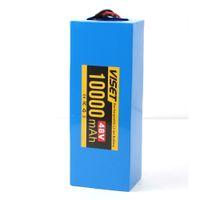 Pacchetto di batterie agli ioni di litio di Hailong - 48V 10 Ah Batteria Ebike con carica per 1000W 750W 350W 250W Bafang voilamart e altro