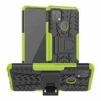 Shockproof Sticker Stand Fashion Rugged Combo Hybrid Armor B...