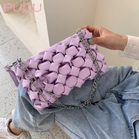 Jz رئيس أكياس المرأة 2020 الاتجاه مخلب حقيبة crossbody نسج حقيبة الكتف حقيبة سلسلة الأزياء الصغيرة حقائب الصيف محفظة السيدات