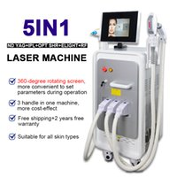 OPT SHR IPL ELIGHT LASER RF SCREL SCORE для дома Использование машины Q Коммутационная лазерная машина удаления татуировки