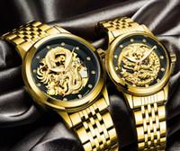 Swiss Tevise Relógio Longo Assista Masculino Estilo Quente Impermeável Luminosa Luminosa Relógio Mecânico de Relógios Mecânicos Vendas Diretas
